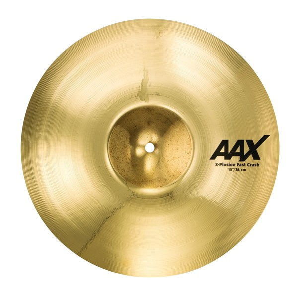 Sabian AAX 15'' X-Plosion Fast Crash Cymbal, Brilliant Finish - Main Image