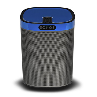 ColourPlay Skin for Sonos PLAY:1, Cobalt Blue Gloss