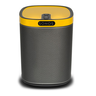 ColourPlay Skin for Sonos PLAY:1, Sunflower Yellow Gloss