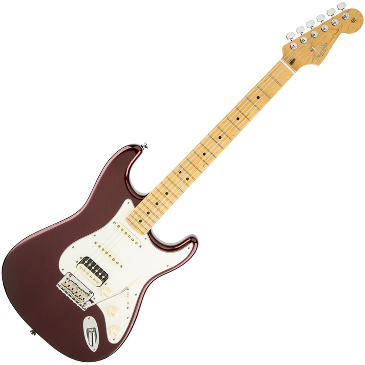 Disc Fender American Standard Strat Hss Shawbucker Bordeaux Micro Switch Wiring Diagram Pickups Mn Metallic