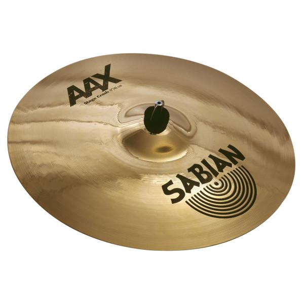 Sabian AAX 17'' Stage Crash Cymbal, Brilliant Finish - Main Image