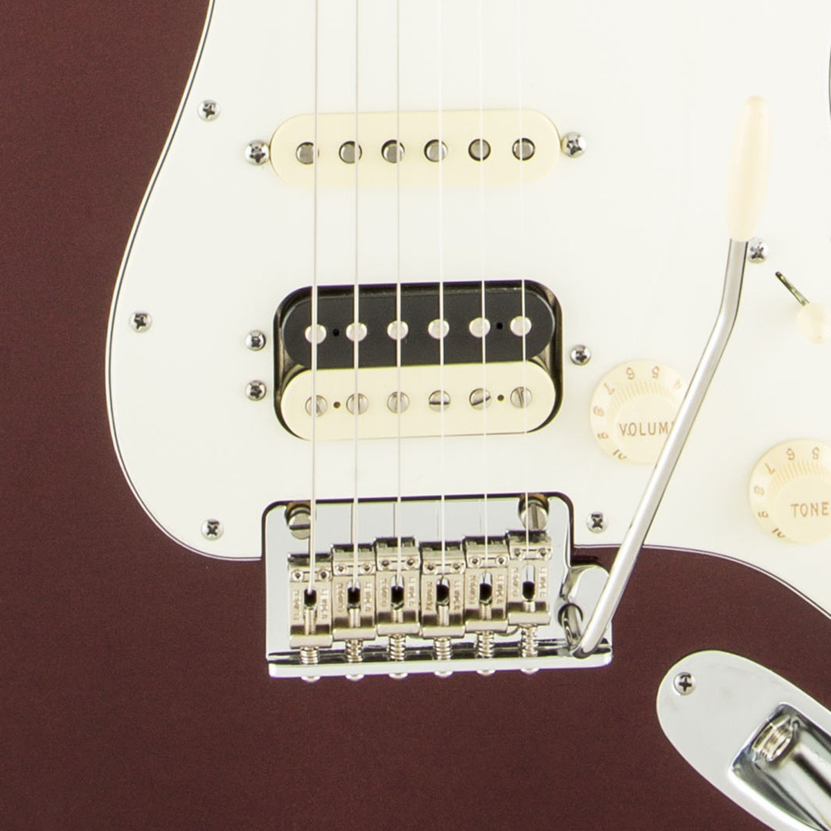 Disc Fender American Standard Strat Hss Shawbucker Bordeaux Wiring Diagram Mn Metallic Loading Zoom