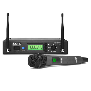 Alto Radius 100 Wireless Dynamic Microphone Transmitter