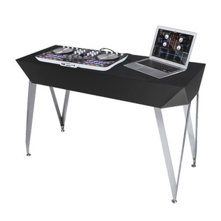 Glorious Diamond DJ Table, Black 4