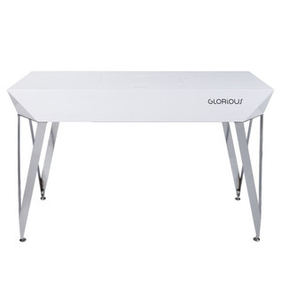 Glorious Diamond DJ Table, White 2