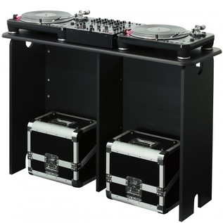Glorious MixStation DJ Table, Black