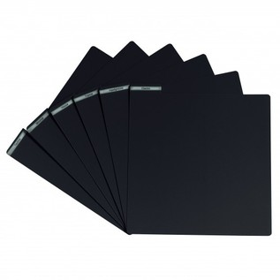 Glorious PVC Vinyl Divider, Black