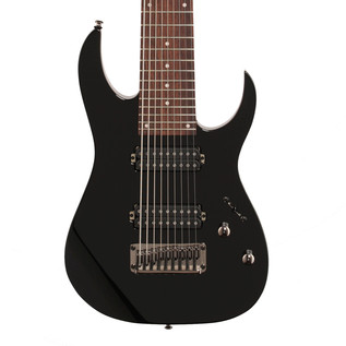 Ibanez RG9 9-String Electric Guitar, Black