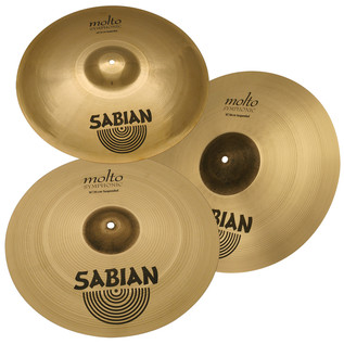 Sabian AA Molto Symphonic Suspended Cymbal Set