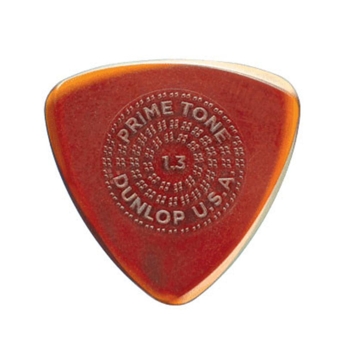 Dunlop Primetone Small Tri Sculpted Guitar Plectra 14 Gauge 3 Pack