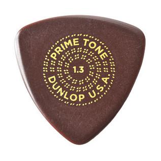 Dunlop Primetone Small Tri Sculpted Plectra 1.3 Gauge, 3 Pack