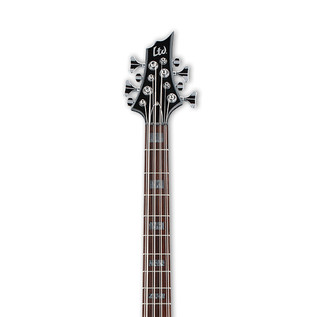 ESP LTD FB-208 Frank Bello 8-String Bass Guitar, Black Satin