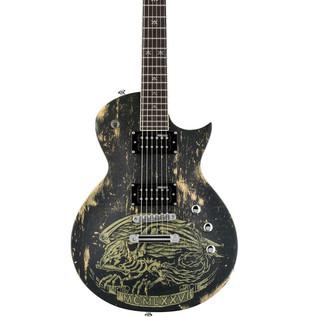 ESP LTD WA-200 Warbird Electric Guitar, Distressed