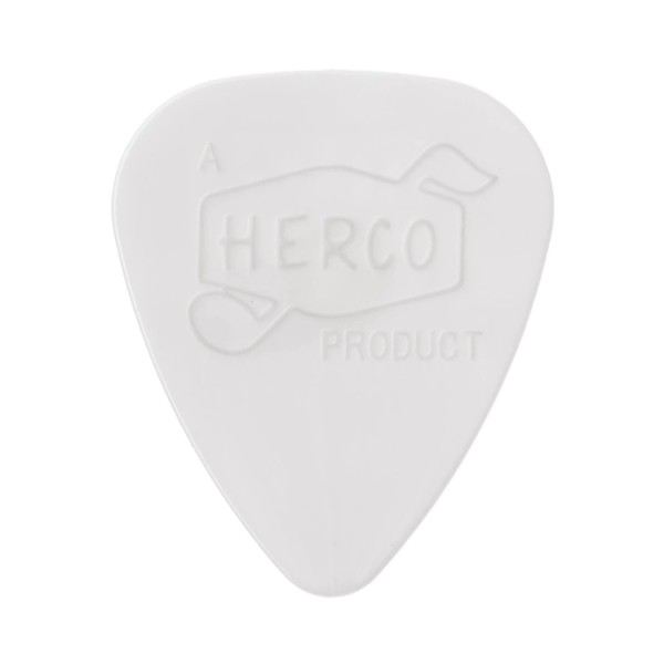 Dunlop Herco Vintage '66 Extra Light White Pick, Pack of 6