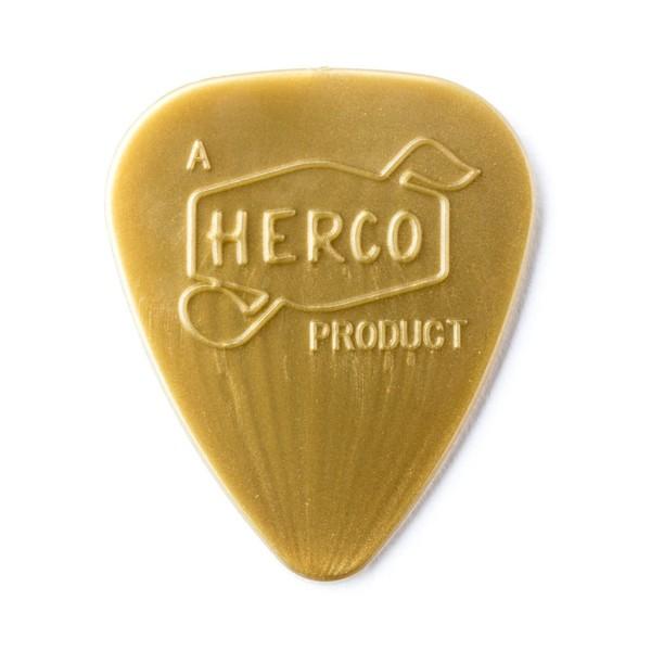 Dunlop Herco Vintage '66 Light Gold Pick, Pack of 6