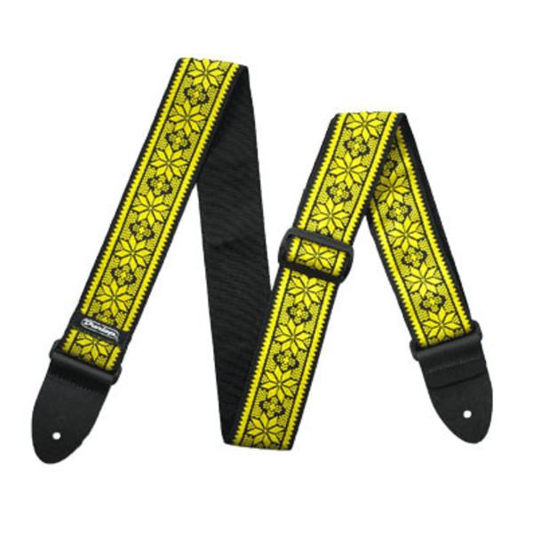 Dunlop Jacquard Strap, Fillmore Yellow