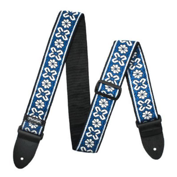 Dunlop Jacquard Strap, Avalon Blue