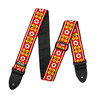 Dunlop Jacquard Guitar Strap, Avalon Red