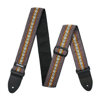 Dunlop Jacquard Strap, Matrix Brown