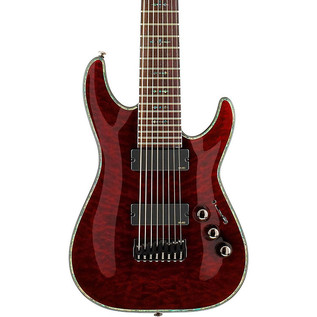 Schecter Hellraiser C-8, Black Cherry - 1