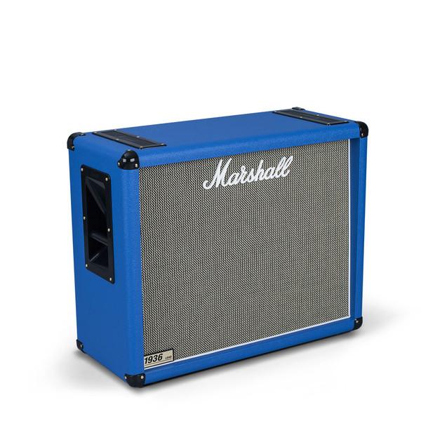 disc marshall 1936 2x12 39 39 guitar speaker cab regency blue at gear4music. Black Bedroom Furniture Sets. Home Design Ideas