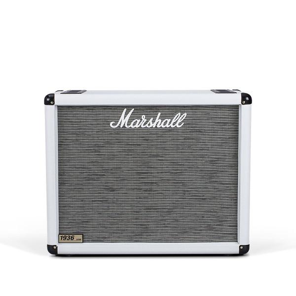 "Marshall 1936 2x12"" Guitar Speaker Cab, Arctic White"