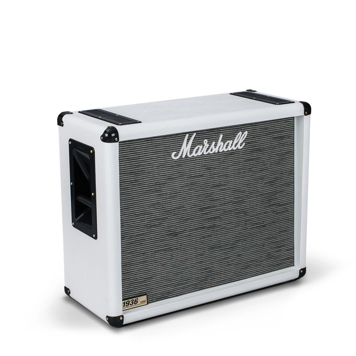 Marshall 1936 2x12'' Guitar Speaker Cab, Arctic White at ...