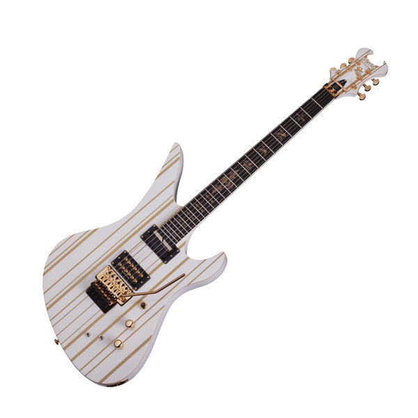 Schecter Synyster Gates Custom C Limited Edition, White and Gold