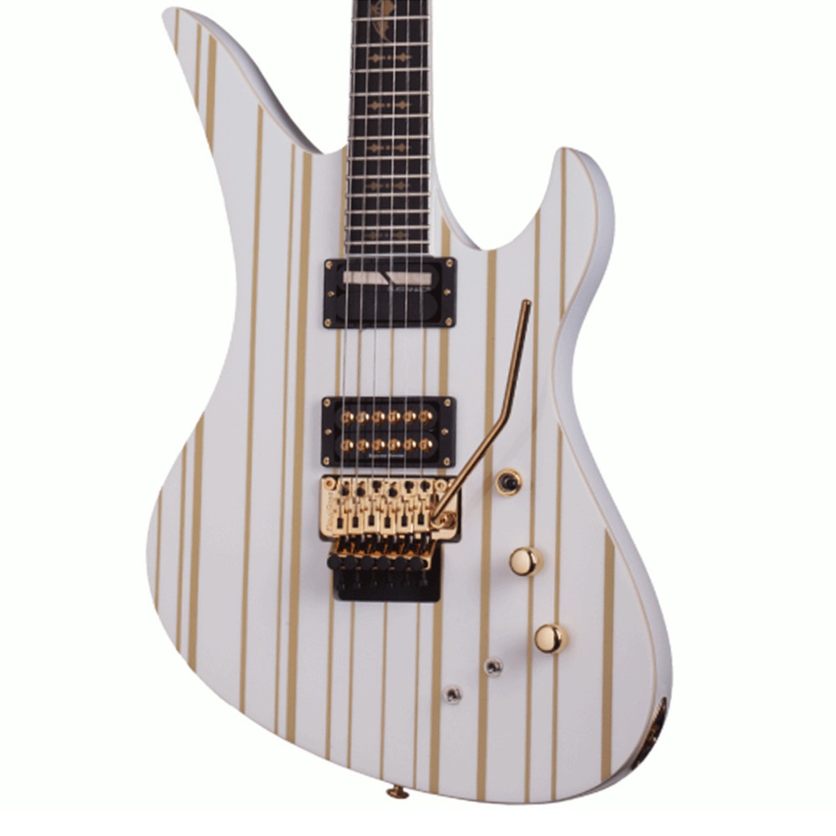 Schecter Synyster Gates Custom C Limited Edition Blanco Y