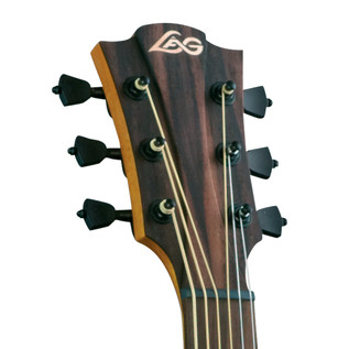 LAG T200DCE Dreadnought Cutaway Electro Acoustic Guitar, Natural