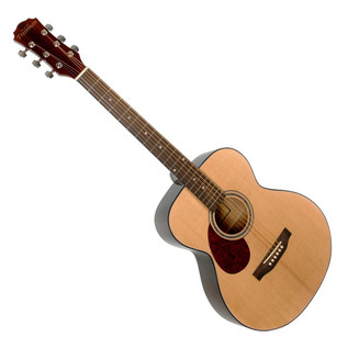 Freshman RENFNLH Renegade Folk Left Handed Acoustic Guitar, Natural