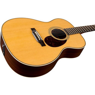 Martin OM-28E Retro Acoustic Guitar 4