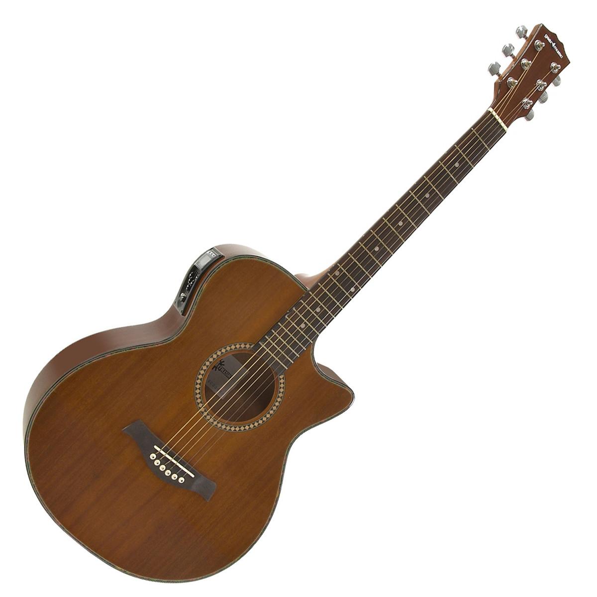 Guitare Electro Acoustique Deluxe Pan Coupé Simple par ...