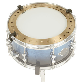 Sabian Jojo Mayer Hoop Crasher, On Sonor Snare Head