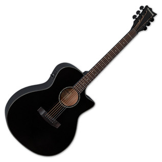 ESP LTD A-300E Tombstone Electro Acoustic Guitar, Black