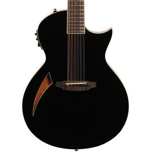 ESP LTD TL-12 12-String Electro-Acoustic Guitar, Black