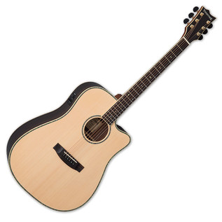 ESP LTD D-430E Tombstone Electro Acoustic Guitar, Natural