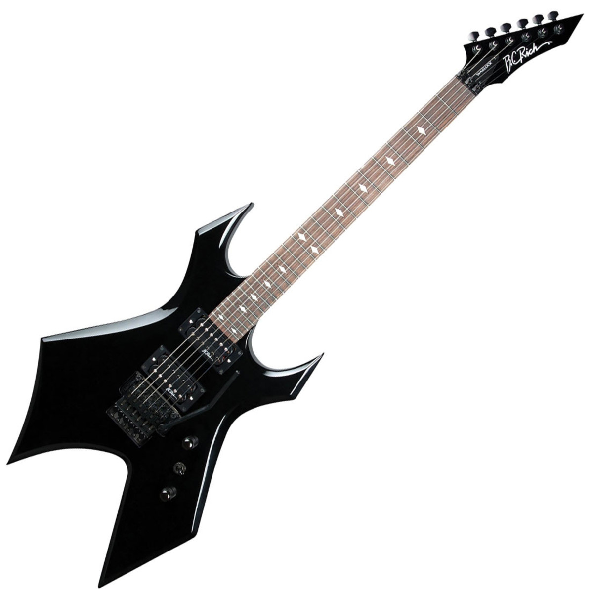 disc bc rich warlock fr electric guitar black at gear4music. Black Bedroom Furniture Sets. Home Design Ideas