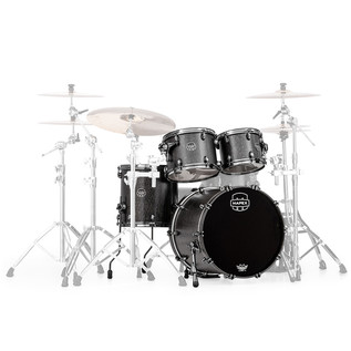 Mapex Saturn V MH Exotic Series Club Fusion, Flat Black Maple Burl