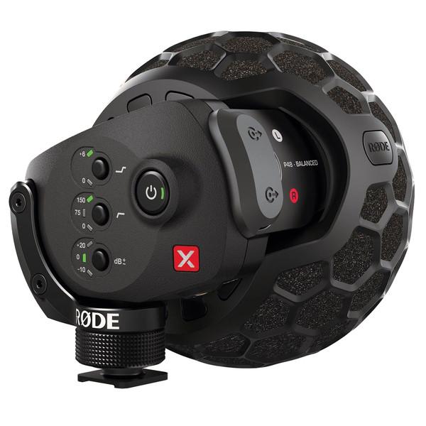 Rode Stereo VideoMic X for DSLR Cameras