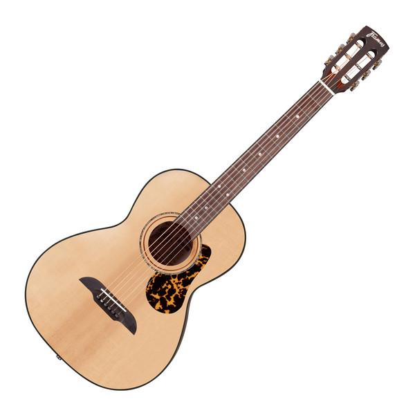 Framus Legacy Parlor Acoustic Guitar, Vintage Natural Satin