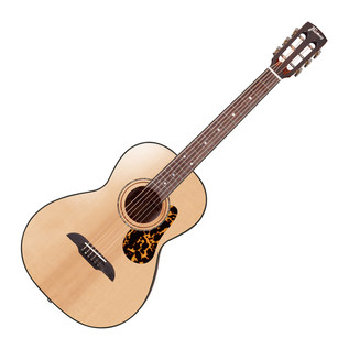 Framus Legacy Parlor Acoustic Guitar, Vintage Natural High Polish
