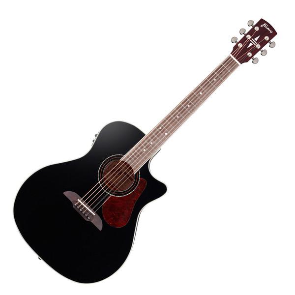Framus Legacy Cutaway Grand Auditorium Electro Acoustic Guitar, Black
