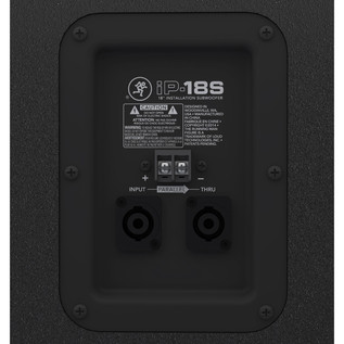 Mackie IP-18S Installation PA Subwoofer