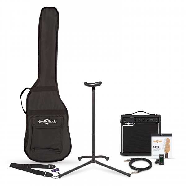15 Watt Bass Amp & Accessory Pack
