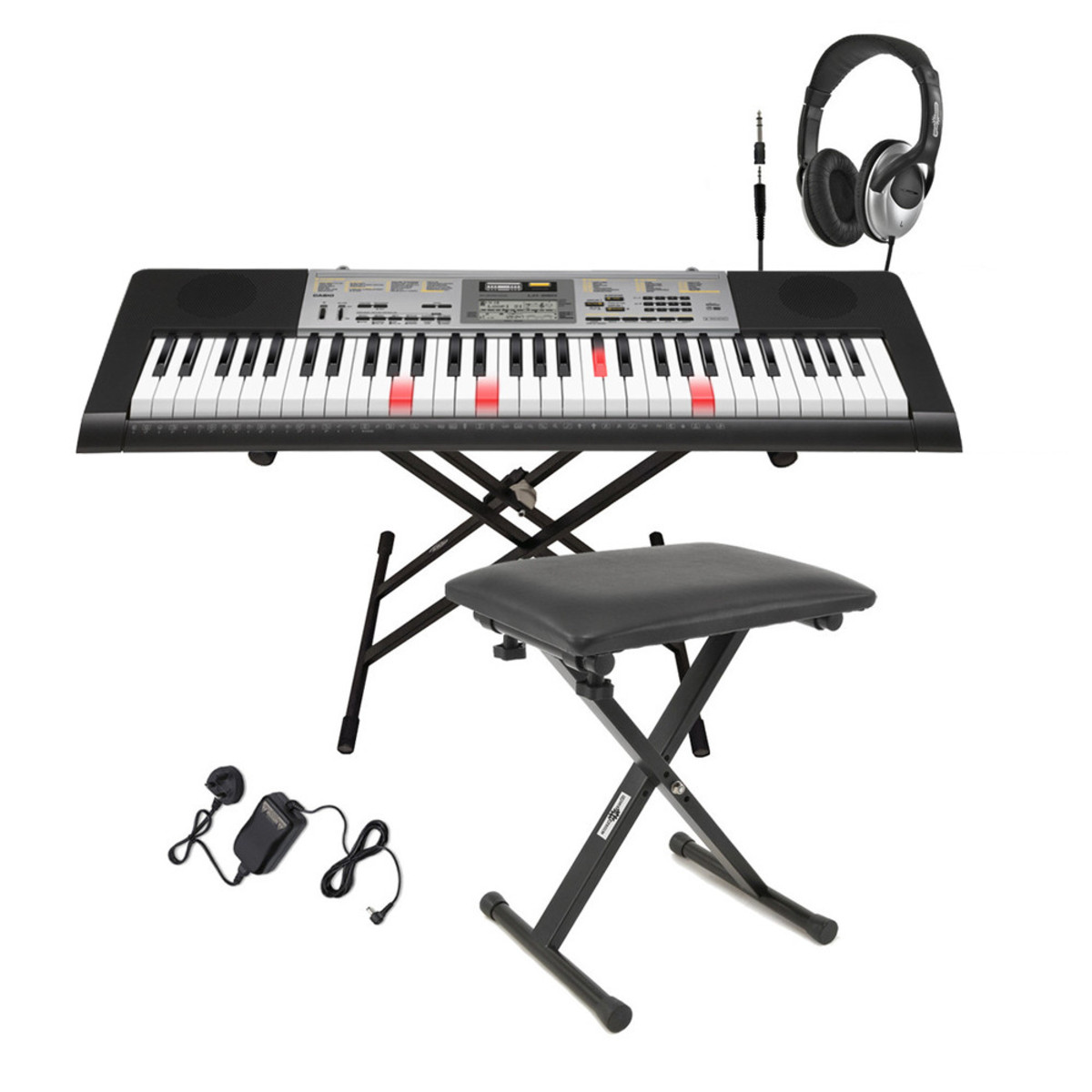 93f1ea78da49 Casio LK-260 Keylighting Keyboard - Complete Pack. Loading zoom