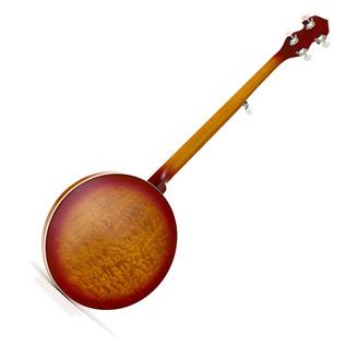 Ozark 2306G 5-String Banjo, Cherry Sunburst