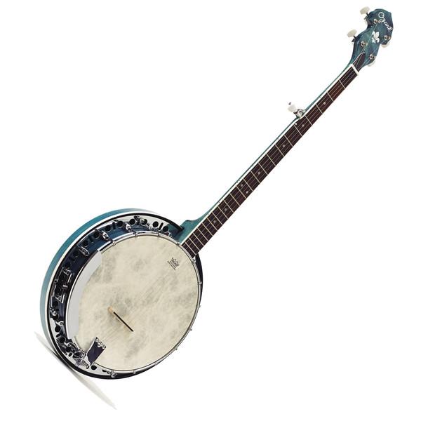 Ozark 2306G 5-String Banjo, Blue