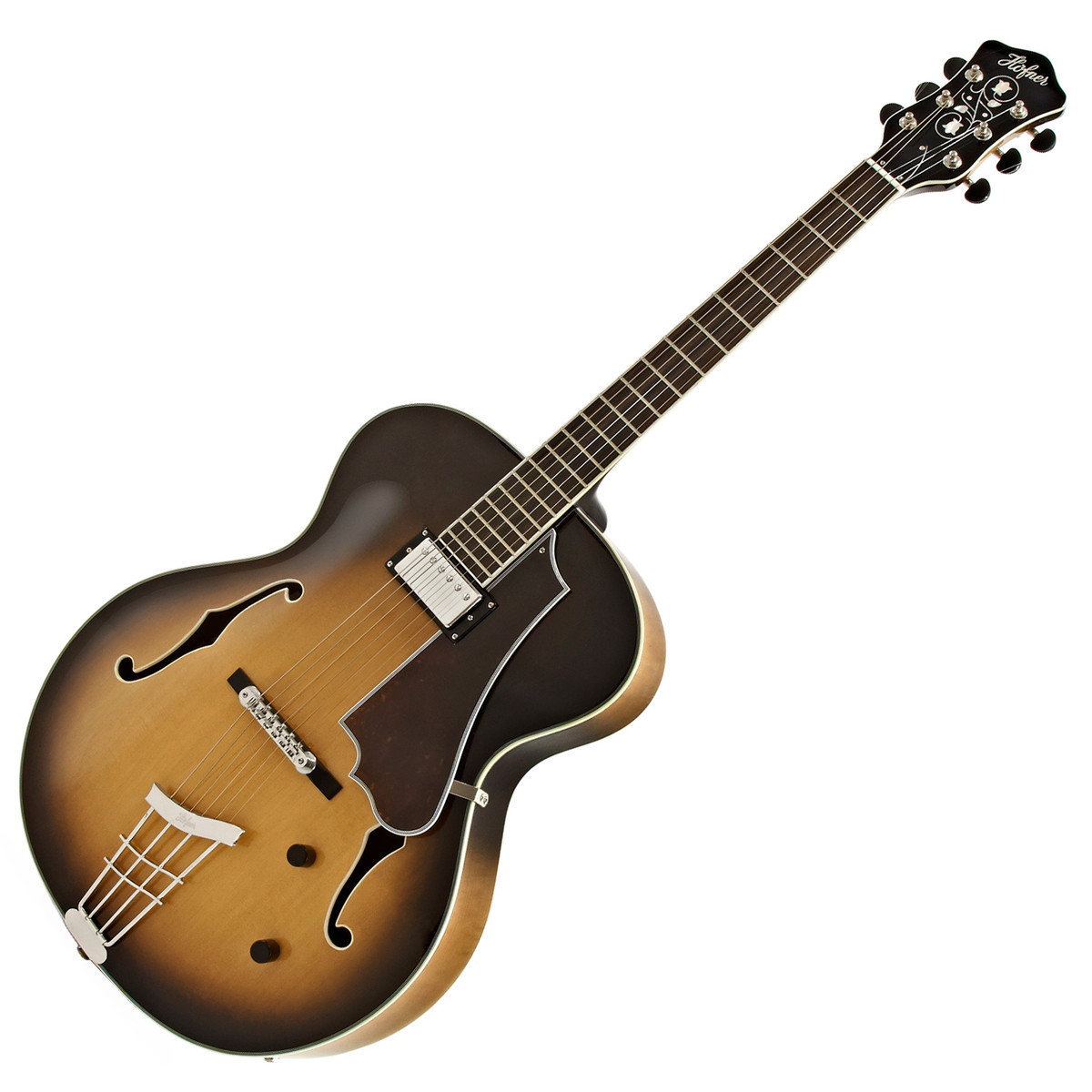hofner hct jazz electric guitar single pickup sunburst nearly new at gear4music. Black Bedroom Furniture Sets. Home Design Ideas