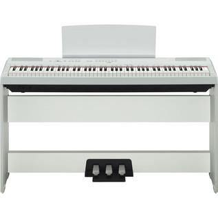Yamaha P115 Digital Piano, White 3